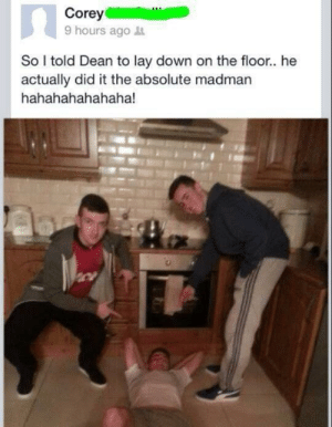 damonwells:  cringepics:  Dean you fucking nutcase   almost as wacky as when craig made toast : damonwells:  cringepics:  Dean you fucking nutcase   almost as wacky as when craig made toast