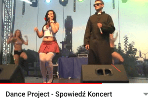 Sex, Dance, and Repentance: Dance Project Spowiedź Koncert Polish song about sex for repentance with priest