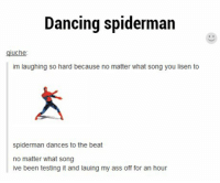 spiderman dances