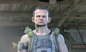 I kept clicking the random character generator in The Division 2 beta, then, it made Flea for me!: DANGE  FLAMMABL I kept clicking the random character generator in The Division 2 beta, then, it made Flea for me!