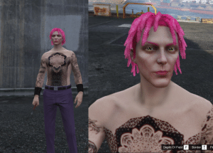 Gta V, Gta, and Depth: DANGER  VOLYS  Depth Of Field F  Border  Fil Tried to make Diavolo in GTA V