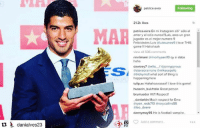 """Patrice Evra to Luis Suarez on Instagram: """"Love only, never hate. You're a great player and the best #9. Congratulations on the award. I love this game! Hahaha.""""  Class.: danialves23  MAR  Nu patrice evra  Following  21.2k likes  patrice.evra En mi Instagram alli' solo el  amor y el odio nunca!!!Luis, eres un gran  jugador es el mejor numero 9  Felicidades Luis aluissuarez9 i love THIS  game Hahahaah  view all 506 comments  rinnlimani tarinorhyseni 10 qy si daba  haha  davvtrey7  Gellis fajonnypynw  @steveoramotne amikesezello  @tricky moll what sort of thing is  happening here  tulip.xx Hahahaaaaaaa!! l love this game!  hussein bukhtala Great person  brumus der Wtf! Respect!  danlarkin Much respect for Evra  tary an reds710 arory collins55  @leo deere  dannymay95 He is football vampire.  Add a comment Patrice Evra to Luis Suarez on Instagram: """"Love only, never hate. You're a great player and the best #9. Congratulations on the award. I love this game! Hahaha.""""  Class."""