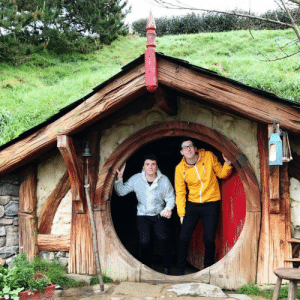 Target, Tumblr, and Blog: danielhowell:  two tol lads in one smol hobbit hole