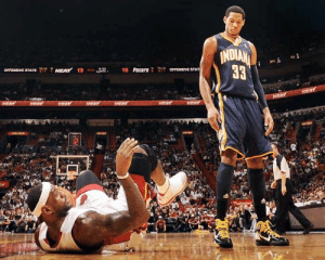 Danny Granger was so good before the injuries!   (Yes, that's LeBron in the 1st clip)  https://t.co/XDPYIDSfao: Danny Granger was so good before the injuries!   (Yes, that's LeBron in the 1st clip)  https://t.co/XDPYIDSfao