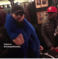 Memes, OutKast, and Wshh: @danrue  @nicknpattiwhack. Nick and Dan went to buy a scarf and ran into BigBoi from Outkast! 😳😩😂 @Nicknpattiwhack_ @Danrue @TheRealBigBoi WSHH
