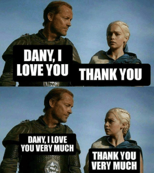get used to it.: DANY,I  LOVE YOU THANK YOU  DANY,I LOVE  YOU VERY MUCH  THANK YOU  VERY MUCIH get used to it.