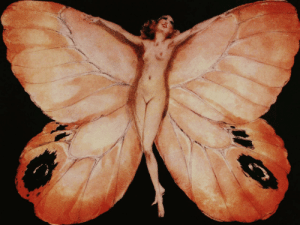 dappledwithshadow:  ButterflyLouis Icart - Date unknown : dappledwithshadow:  ButterflyLouis Icart - Date unknown
