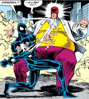 Respect, Daredevil, and Kingpin: DAREDEVIL!!  SuIT Nothing but respect for MY Kingpin