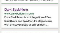 🕊 https://twitter.com/HumansOfLate  🕊 https://www.instagram.com/HumansOfLate: Dark Buddhism  www.darkbuddhism.com  Dark Buddhism is an integration of Zen  Buddhism and Ayn Rand's Objectivism,  with the psychology of self-esteem 🕊 https://twitter.com/HumansOfLate  🕊 https://www.instagram.com/HumansOfLate