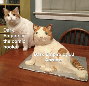 The Dark Side of the Force is a pathway to many abilities some consider to be unnatural...: Dark  Empire in  the comic  books  Dark Empire by JJ  Abrams The Dark Side of the Force is a pathway to many abilities some consider to be unnatural...