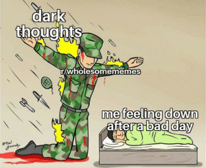 Bad, Amazing, and Content: dark  thoughts  wholesomememes  me feeling down  aftera bad dav  utkal  aura Thanks for the amazing content.