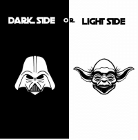 Which side of the force do you belong to? WARNING: The dark side might try to bribe you with cookies 🍪 Regardless of your allegiance, you won't want to miss out on May's Star Wars loot!: DARKSIDE O  LIGHT SIDE  MIN Which side of the force do you belong to? WARNING: The dark side might try to bribe you with cookies 🍪 Regardless of your allegiance, you won't want to miss out on May's Star Wars loot!