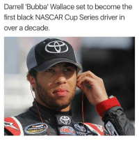 "Bubba, Memes, and Nascar: Darrell ""Bubba' Wallace set to become the  first black NASCAR Cup Series driver in  over a decade"