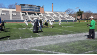 Dartmouth has a robot that runs a 4.7-second 40-yard dash. Is this the future of football practice? [link in bio]: Dartmouth has a robot that runs a 4.7-second 40-yard dash. Is this the future of football practice? [link in bio]