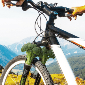 dennys:  Buying a new mountain bike? We recommend front BroccShoks™ for the most control and traction, but also for being a healthy post-ride snack.: DAS CACCHC dennys:  Buying a new mountain bike? We recommend front BroccShoks™ for the most control and traction, but also for being a healthy post-ride snack.