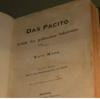 Credited, Karl Marx, and Band: DAS PACITO  Kritik der politischen Oekonomie.  Karl Marx  Erster Band  Buch 1: Dee Produk tiommproces  s des Kapitals  Hamburg  Otto Meissner Rare First Copy of Despacito, Credited to Original Songwriter. (1848, Colorized)