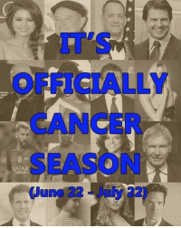 Cancer Season (22 June - 22 July) is finally here! Happy birthday to all fellows Cancerians! ♋️🎉🎊 Tag a Cancer friend! ♋️ http://bit.ly/2sDOb6v: DATA R  (June22 July-22 Cancer Season (22 June - 22 July) is finally here! Happy birthday to all fellows Cancerians! ♋️🎉🎊 Tag a Cancer friend! ♋️ http://bit.ly/2sDOb6v