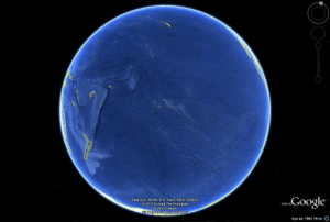 Google, Target, and Tumblr: Data SIO. NOAA, U.S. Navy, NGA. GEBCO  O 2011 Europa Technologies  O 2011 Google  cGoogle  02010  Eye alt 7567.76 mi O standby-reality:  sixpenceee: Just in case you forgot how big the Pacific ocean is. and people are saying that there's no mermaids, or atlantis or sea monsters