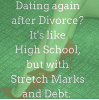 how to begin dating again after divorce