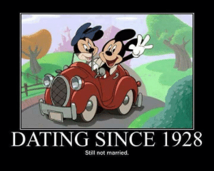 Dating, Funny, and Still: DATING SINCE 1928  Still not married.