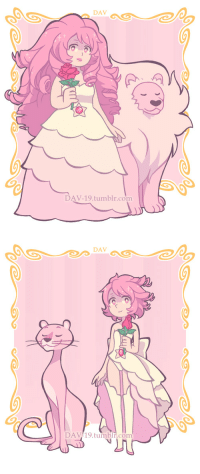 Target, Tumblr, and Blog: DAV  DAV-19.tumblr.com   DAV  DAV/19.tumblr.com dav-19:  If Rose Quartz has a Pink Lion, then Rose Pearl has a Pink Panther :^)~ ~ ~spoiler: Pink Panther - Pink Diamond! :D