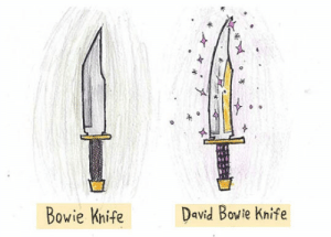 awesomesthesia:  Different Types Of Knives: David Bowie Knife  Bowie Knife awesomesthesia:  Different Types Of Knives