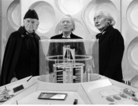 Memes, 🤖, and David Bradley: David Bradley with William Hartnell and Richard Hundrell