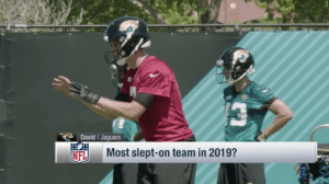 Memes, Nfl, and 🤖: David Jaguars  Most slept-on team in 2019?  NFL No one's talking about their 2019 chances... yet.  The ___________ are this year's biggest sleeper team. (via @NFLTotalAccess) https://t.co/96ffLYjlJn