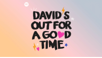 Target, Twitter, and Spotify: DAVID S  OUT FOR  A GO D  TIME* Exciting Update Ahead: Spotify has given me an original podcast called Davids Out For A Good Time which is launching on the 25th of September! Expect everything from Cardi B to Queer Intersectionality. We have a LOAD of special guests starting with @courtneyact! http://spoti.fi/DO4AGT Save it to your Spotify library!
