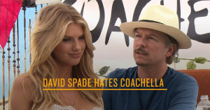 Are you qualified for Coachella? How would you handle the questions David Spade has for Charlotte Mckinney?: DAVID SPADE HATES COACHELLA Are you qualified for Coachella? How would you handle the questions David Spade has for Charlotte Mckinney?