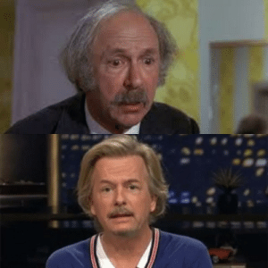 David Spade is starting to look a lot like the shitty grandpa from Willy Wonka.: David Spade is starting to look a lot like the shitty grandpa from Willy Wonka.