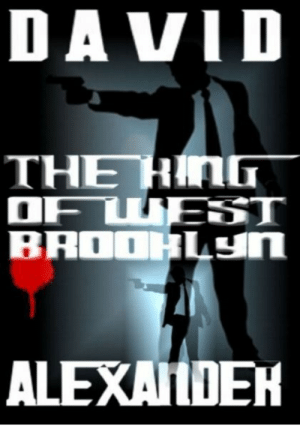 "Boo, Crime, and Family: DAVID  THE HA  ALEXALDEH lol-coaster:    The King of West Brooklyn   ""Where were you born?""""Brooklyn.""""Any other defects?""–From a war movie.A Crime Thriller NovelBy David Alexander  Dominick ""Dee"" de Venise's textile warehouse has been in the family for generations, but he'll have to torch it for the insurance money. De Venise has no other choice. The Mezzatesta family is into him for boo-koo bucks and if he doesn't pay off, he's history.The only other option de Venise has is to stage a big-money heist planned by his crooked lawyer friend Arnie, but he's already turned down that particular deal. Arnie's plan was too risky, and besides, de Venise knew Arnie long enough and well enough not to trust him. De Venise doesn't trust anyone to torch the business either. Wanting it done right, he plans to do it himself, then set up an ironclad alibi.     NOOK Press Presents"