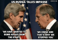 """Why do they bomb us?' 13-year-old Aleppo girl whose brother is killed in latest US-backed rebel shelling: http://bit.ly/2ecrC29 #WW3: DAVIDICKE.COM  US-RUSSIA TALKS IMPASSE  """"WE HAVE WANTED TO  WE KNOW AND  THAT WHY WE  BOMB ASSAD FROM  THE START  STOPPED YOU. Why do they bomb us?' 13-year-old Aleppo girl whose brother is killed in latest US-backed rebel shelling: http://bit.ly/2ecrC29 #WW3"""