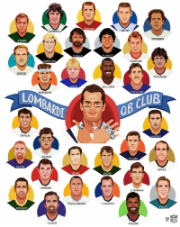 Club, Memes, and Tom Brady: DAW  NAMATH  UNITAS  STAUBACH  STARR  STABLER  PLUNKETT  BRADSHAW  MONTANA  GRIESE  THEISMANN  SIMMS  WILLIAMS  MCMAHON  HOSTETLER  OMBARD  GB CLUR  RYPIEN  WARNER  AIKMAN  ELWAY  DİLFER  BREES  YOUNG  FAVRE  JOHNSON  E. MANNING  ROETHLISBERGER  P MANNING  RODGERS  FOLES  FLACCO  WILSON Tom Brady is now a 6x member of the Lombardi QB Club! 🏆 https://t.co/u71TvNEu48