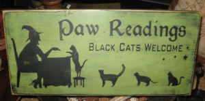 Cats, Black, and Daw: Daw Readings  BLACK.CATS WELCOME