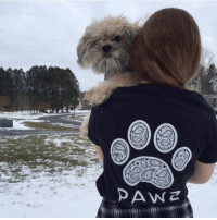 Ciara, Memes, and 🤖: DAW Z Thanks @ciara_hite for the support in our paisley shirt! Order now at PawzShop.com