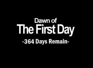 mako-symptoms:  I always have to start the New Years with this picture. : Dawn of  The First Day  -364 Days Remain- mako-symptoms:  I always have to start the New Years with this picture.