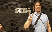 Anaconda, Dank, and Game: Day 1: This is Arin Hanson, world's #1 Big the Cat fan and creator of Game Grumps.  He thinks he is visiting SEGA of Japan to see Team Sonic Racing, but we are actually locking him in a room and forcing him to 100% Sonic 2006. Surprise, Arin!