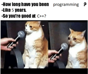 Day 1825 of learning C++ in 21 days: Day 1825 of learning C++ in 21 days