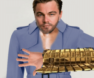 Day 87 - Turning People into JoJo Characters until Stone Ocean is announced: Leonardo DiCaprio as D-I-S-C-O: Day 87 - Turning People into JoJo Characters until Stone Ocean is announced: Leonardo DiCaprio as D-I-S-C-O