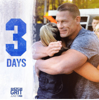 Find your grit. American Grit returns in three days!: DAYS  AMERICAN  GRIT  JUNE 11 FOX Find your grit. American Grit returns in three days!