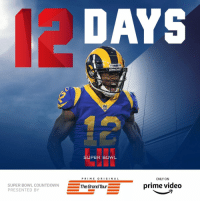 Countdown, Memes, and Super Bowl: DAYS  SUPER BOWL  PRI ME O RI G I N A L  ONLY ON  SUPER BOWL COUNTDOWN  PRESENTED BY  The Grand Tour  prime video 12 days until #SBLIII!  (by @thegrandtour) https://t.co/mxhRFHqpTV