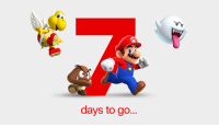 One more week. Race ya to the land of power-ups, Princess Peach, and persistent plumbers. 🏁 #SuperMarioRun  apple.co/SuperMarioRun: days to go... One more week. Race ya to the land of power-ups, Princess Peach, and persistent plumbers. 🏁 #SuperMarioRun  apple.co/SuperMarioRun