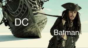 srsfunny:  Batman and Joker are carrying: DC  Batman srsfunny:  Batman and Joker are carrying