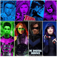 "Asian, Comfortable, and Family: DC DIGITAL  SERVICE  COC MARVEL. UNITE The Official Titans TV Series Character Details have been Revealed and they all sound a lot like some of the OG TeenTitans ! 😱 See if you can guess them ! 🤔 DCExtendedUniverse 💥 DCEU 1. [John Crossland] Male, late 20s-early 30s, Caucasian. Equal parts charm and impenetrability, John is a cop. He has a nice smile, tired eyes and a cool, distant manner. However, when provoked, his eyes are so lethal ""they drain a man of every last bit of spleen."" John is haunted by the murder of his family. Unbeknownst to those around him, he is also a vigilante. In the shadows, he fights with the commitment and conviction of an artist, the brutal grace of a dancer. Mentally and physically, he is covered in a map of scars. And though he fights to escape his past, it is often a losing battle…SERIES LEAD 2. [SARAH] Female, Mid teens, Open Ethnicity. Troubled, bullied, often scared but unwilling to show it, Sarah is a loner more comfortable hiding in her hoodie than making friends. Haunted by a dark force inside her, Sarah experiences violent episodes that she cannot understand or control. She is also plagued by recurring nightmares that lead her across the country in search of help…SERIES REGULAR 3. [CASEY] Female, 20s, Open ethnicity. Casey is a tall, stunning woman, her beauty so magnificent it's almost inhuman. Elegant, refined and mysterious, she is on the hunt to discover who is trying to kill her and why. And those after her are in for a surprise because she's more deadly than anyone they've ever encountered…SERIES REGULAR 4. [JAX] Male, Mid-late teens, Open Ethnicity, Asian preferred. Funny and charming, this amateur thief's humor hides his insecurities and past pain. Not the toughest kid on the streets, he's learned to survive in the world with his wit and quick-thinking…SERIES REGULAR"" - That's right…it's NightWing, Raven, StarFire and BeastBoy ! BlueBeetle and Tara have also been Rumored to Appear in The Upcoming DCDigitalService Live Action 'TITANS' Series ! 😍👏🏽 DCTV DC"