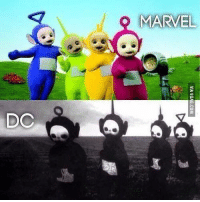 Marvel vs DC. This is way too accurate... http://9gag.com/gag/am85MQj?ref=fbp: DC  MARVEL Marvel vs DC. This is way too accurate... http://9gag.com/gag/am85MQj?ref=fbp