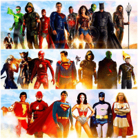 Memes, Shazam, and Deviantart: DC, MARVEL UNITE The JusticeLeague's ! The Future of the DCEU, The Present of the DCTV Universe and The Past of The Original DC Live Action Heroes ! I know there's a lot missing, and some shouldn't be where they are…But hey, that's The Multiverse for you ! Comment Below your Dream JL LineUp ! DCExtendedUniverse ( Artist : @Hemison on DeviantArt ) Edited by Me ( I Added FireStorm, BlackCanary, TheAtom and Shazam) 💥