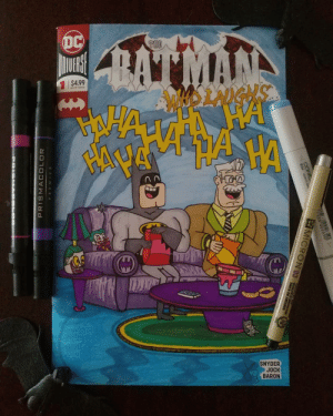Teen Titans, Teen Titans Go, and Titans: DC  SNYDER  JOCK  BARON Teen Titans Go inspired variant cover I did recently.