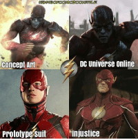 Memes, Shazam, and Superman: DC Universe online  Concept Art  Prototypesuit Injustice It's funny how people keep telling me in my previous post that the concept art is directly from DC Universe Online. Keyword being DIRECTLY. The concept art is certainly inspired by it. DC DCEU DCExtendedUniverse ManOfSteel BvS Batman Superman WonderWoman Aquaman SuicideSquad TheFlash LegendsOfTomorrow Arrow Memes Arrowverse JusticeLeague Constantine Supergirl Darkseid YoungJustice Cyborg GreenLantern Shazam DCMemes TheJoker HarleyQuinn Deadshot Robin Nightwing DCRebirth