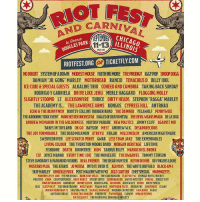 "SystemOfADown will be headlining @riotfest in Chicago this September. Tickets on sale now at systemofadown.com.: DCARNIVA  11-13  RIOTFEST.ORG OR TICKETFLY.COM  LAS PARK  2015  NODOUBT SYSTEM OF A DOWN MODEST MOUSE FAITH NO MORE THEPRODIGY IGGY POP SNOOP DOGG  DAMIAN ""JR. GONG"" MARLEY MOTORHEAD RANCID TENACIOUSD BILLY IDOL  ICE CUBE&SPECIAL GUESTS ALKALINE TRIO COHEED AND CAMBRIA TAKING BACK SUNDAY  RODRIGO Y GABRIELA DRIVE LIKE JEHU MERLE HAGGARD FLOGGING MOLLY  SLIGHTLY STOOPID L7 ALEXISONFIRE THRICE DIRTY HEADS STEPHEN ""RAGGA"" MARLEY  THE ACADEMY IS.... THE LAWRENCE ARMS KONGOS CYPRESS HILL ANTRHAX  ECHO& THE BUNNYMEN BOOTSY COLLINS RUBBER BAND THE DAMNED YELAWOLF PENNYWISE  THE AIRBORNE TOXIC EVENT MANCHESTER ORCHESTRA EAGLES OF DEATH METAL THE DEVIL WEARSPRADA DELASOUL  ANDREW MCMAHON IN THE WILDERNESS MAYDAY PARADE NEW POLITICS JIMMY CLIFF AGAINST ME!  BABES IN TOYLAND OK GO BAYSIDE MEST ANDREW W.K. DESAPARECIDOS  THE JOY FORMIDABLE THE DEAD MILKMEN ATREYU FIDLAR MILLENCOLIN AMERICAN NIGHTMARE  SWERVEDRIVER LEE SCRATCH PERRY GWAR LESS THAN JAKE THE EXPENDABLES  LIVING COLOUR THE THURSTON MOORE BAND MORGAN HERITAGE LIFETIME  FISHBONE DEATH DOOMTREE HUM-TARRUS RILEY MARIACHI EL BRONX  CIV JOYCE MANOR EVERY TIME I DIE THE MOVIELIFE THE DWARVES TOMMY STINSON  STEVEIGNORANT&PARANOID VISIONS  REAL FRIENDS  THE DEAR HUNTER  KEVIN DEVINE  88 FINGERS LOUIE  MUSTARD PLUG THE ATARIS JO MERSA INTO IT.OVERIT. ALVVAYS THE WHITE BUFFALO BLACK-AM-I  SKIP MARLEY KNUCKLE PUCK POST MALONE WITH FKI JAZZ CARTIER CHEFSPECIAL MARMOZETS  MODERN LIFE IS WAR FIT FOR RIVALS BARB WIRE DOLLS THE COATHANGERS FLATFOOT 56 TEENAGE BOTTLEROCKET  PRAYERS CHON COUNTERPUNCH HAVE HERCY SPEEDY ORTIZ SUPERHEAVEN WHITE MYSTERY FOXING DIRECT HIT!  MAIN ATTRAKIONZ GROUND UP SKINNY LISTER BEACH SLANG CAYETANA ALEX WILEY HEEMS DIRTY FENCES  BLIS SLEEP ONIT THE BROKEDOWNS MEAT WAVE PSALH ONE NORTHERN FACES DREAMERS SOUVENIRS ELWAY  INDIAN HANDCRAFTS -SKATING POLLY SIGNALS MIDWEST MODERN CHEMISTRY FAULKNER PEARS  GATEWAY DRUGS TASHA THE AHAZON FOXTROTT TWIN RIVER CLOWNS INDIAN SCHOOL  DIE SELLOUTZ THE MUNICIPAL DRAINAGE PROJECT SystemOfADown will be headlining @riotfest in Chicago this September. Tickets on sale now at systemofadown.com."